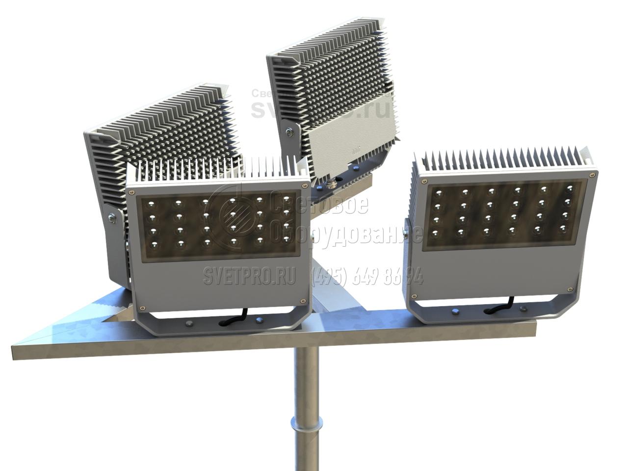 Кронштейны для установки прожекторов и настенных светильников