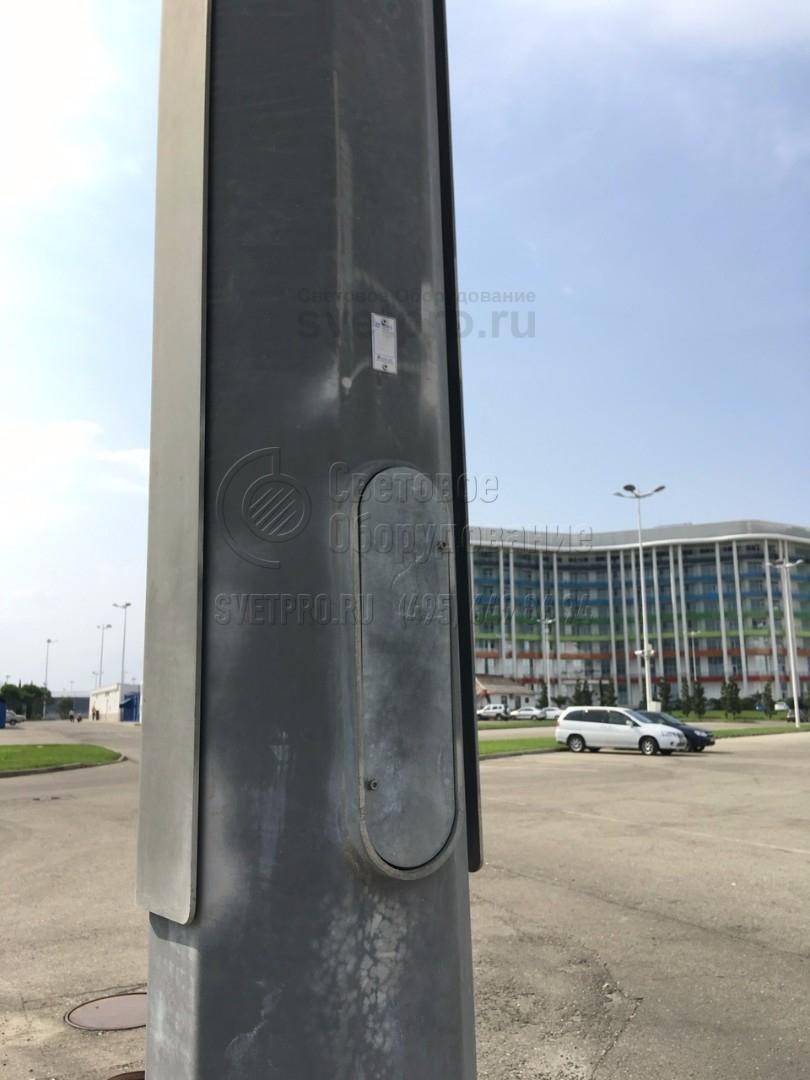 П-ФГ Опора складывающаяся фланцевая граненая