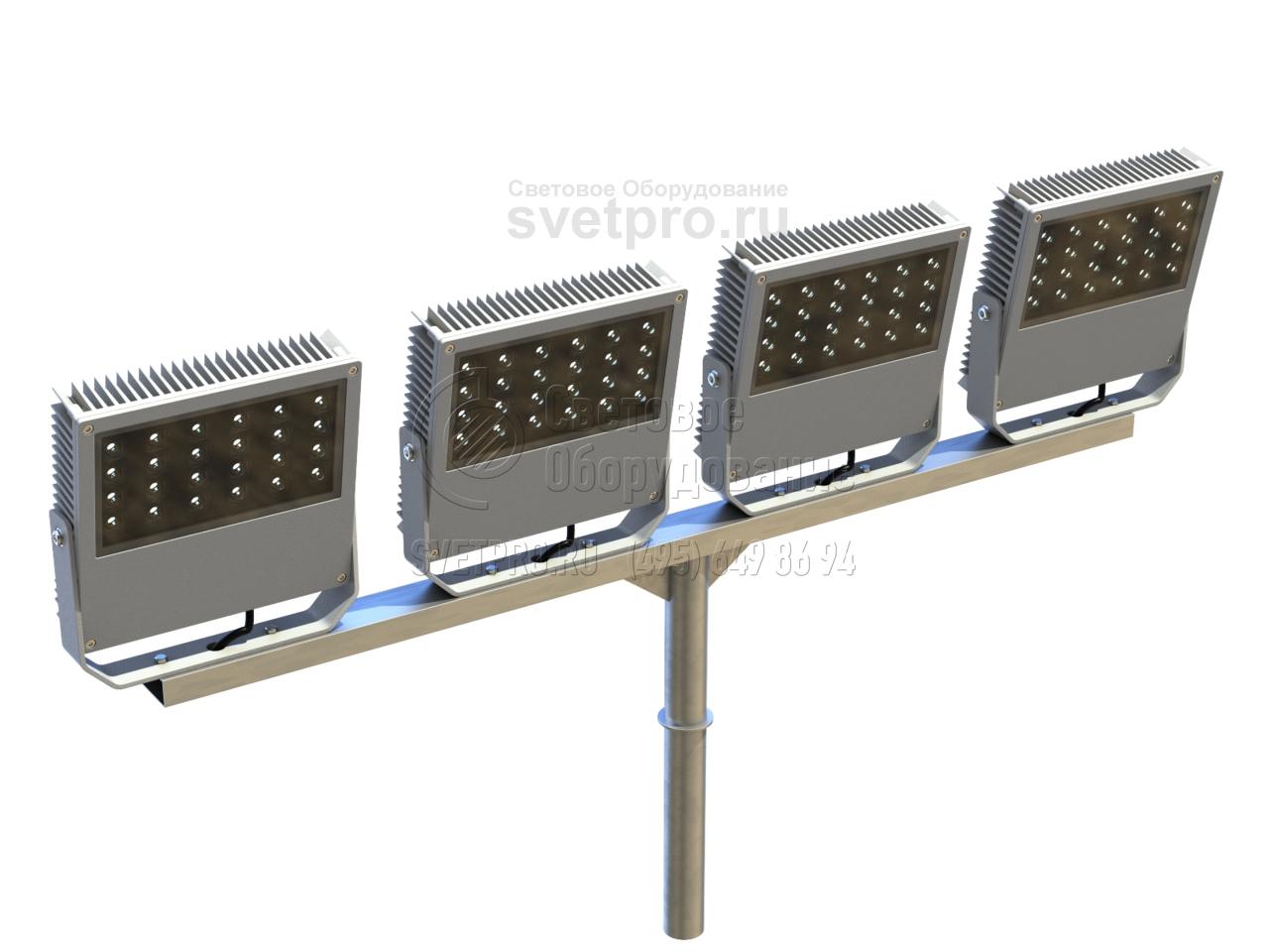 Т-образный (серия 14) Кронштейн для прожекторных светильников