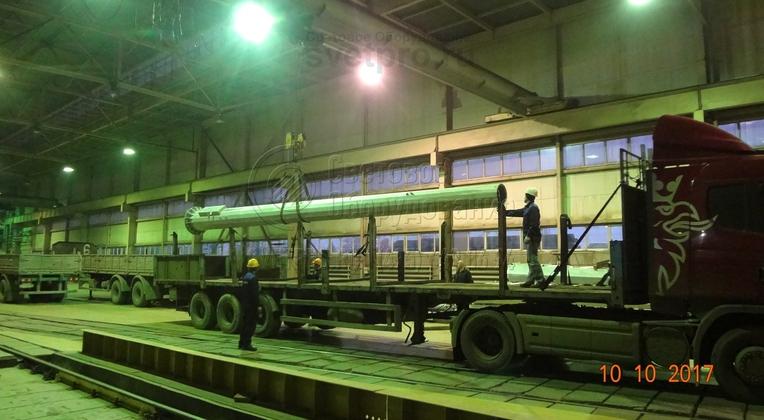Транспортировка элементов мачты должна осуществляться с исключением повреждений защитных покрытий и деформации элементов.