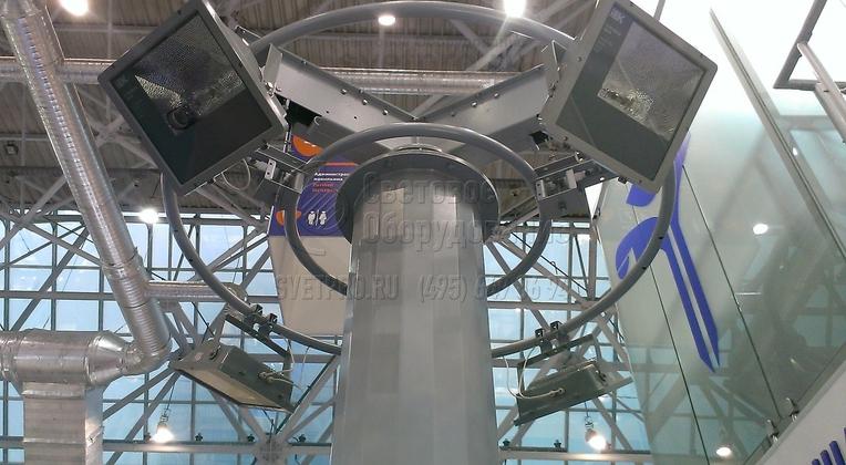 Высота обслуживания осветительных приборов на мачте МГФ‐М 1,5 – 2,0 м.