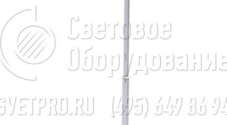 Мачта телескопического типа окрашивается порошковой краской. Это покрытие предотвращает коррозию конструкции при эксплуатации в сложных условиях. В верхней части имеется Т-образный кронштейн, в нижней — распорки для удержания ее в вертикальном положении.