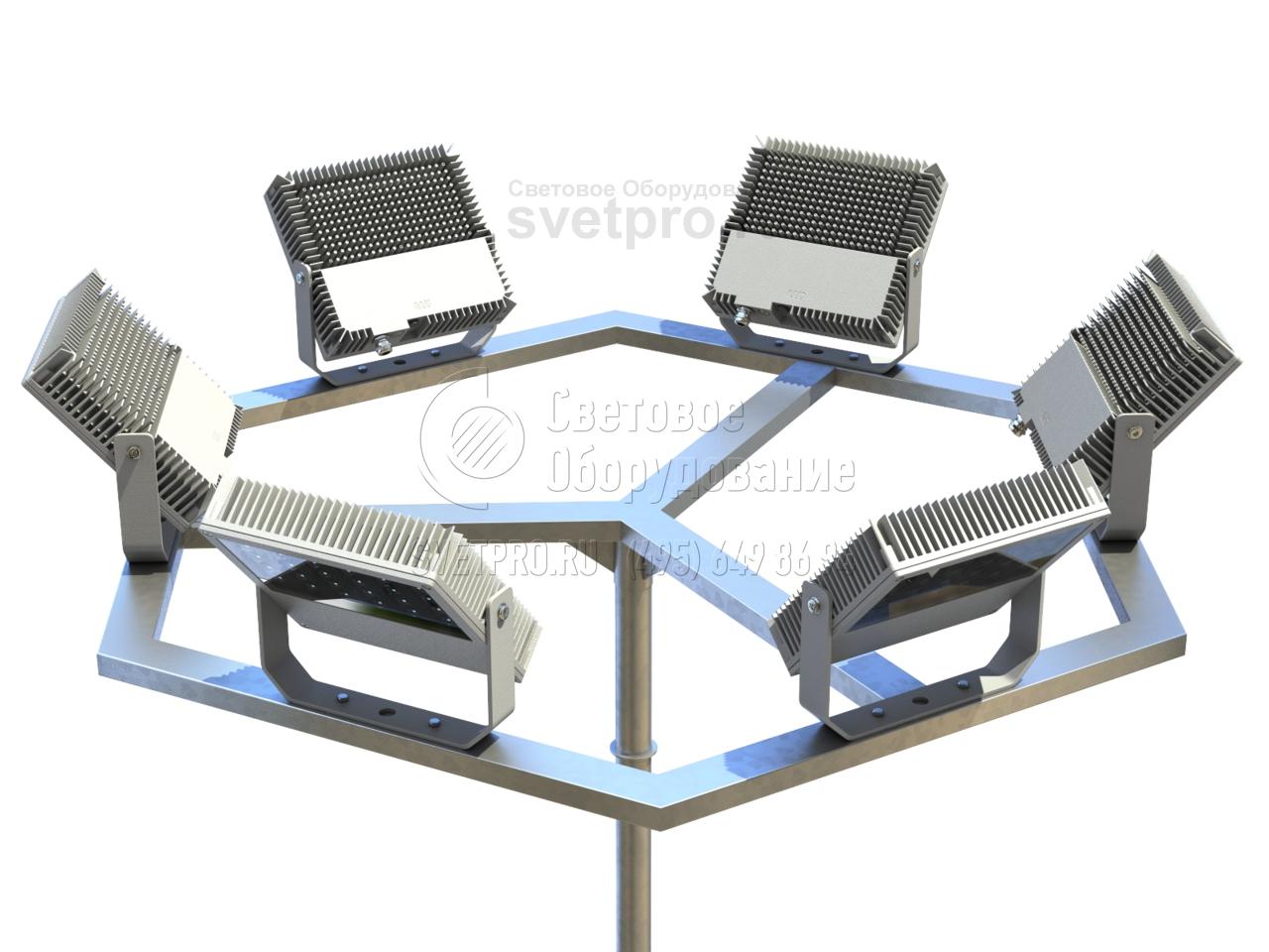 L, T, V, H, K Кронштейны для прожекторов