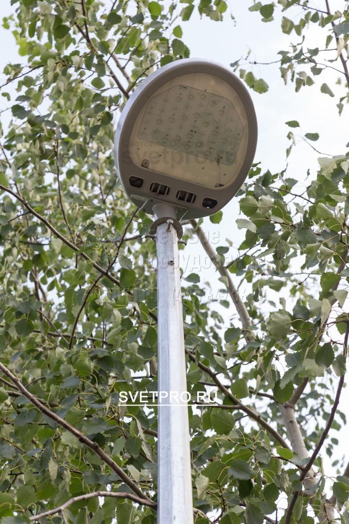 Опоры ОГК-3 могут быть применимы для подсветки парков аллей и пешеходных дорожек