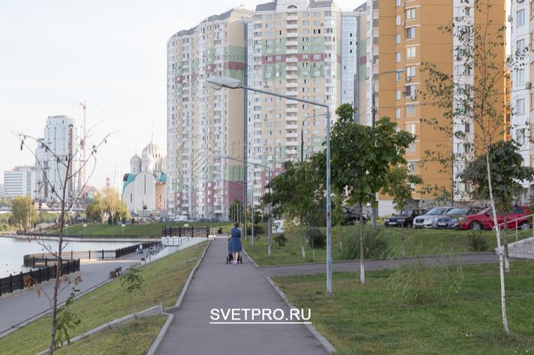 Опоры ОГК-3 из-за не большой высоты актуальны для установки в пешеходных и парковых зонах