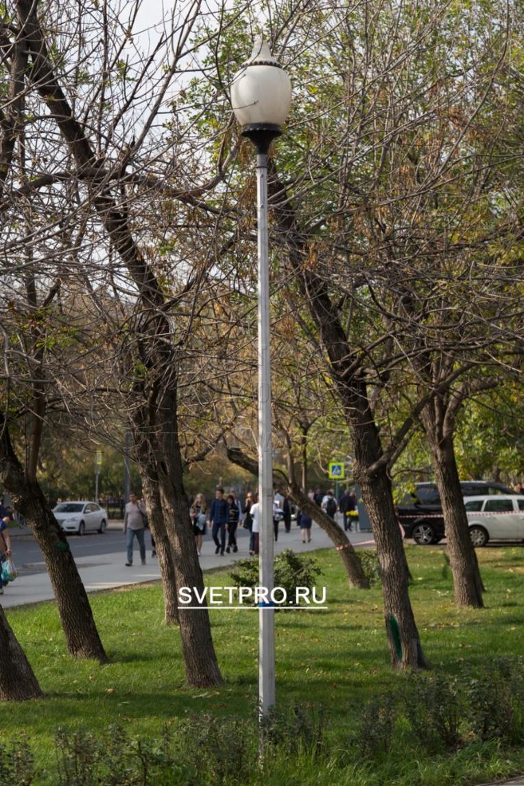 Опоры ОГК-4 также могут быть применимы и для торшерных светильников, освещая парки, скверы и многое другое.