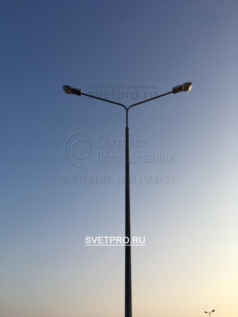 Опоры ОГК предназначены для освещения транспортных развязок, мостов, парковок, парков и т.д.