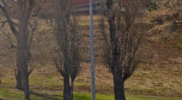 Освещение тротуара с использованием опор НПК-6,0/7,25-02-ц., г. Нижний Новгород, Нижневолжская набережная.