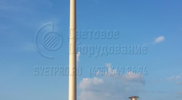 Набережная, г. Нижний Новгород. Опоры НПК-6,0/7,25-02-ц. л.