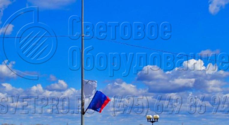 Освещение проезжей части опорами НПК-7,0/8,5-02-ц., г. Нижний Новгород, Нижневолжская набережная.