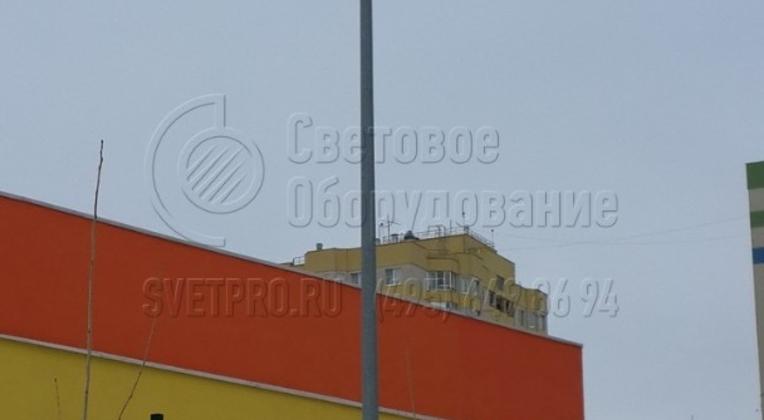 Освещение прилегающей территории детского сада в г. Солнечногорск Московской области.