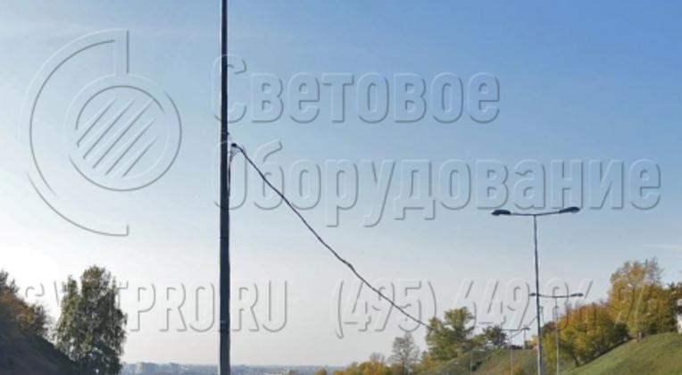 Организация освещения на автомобильном мосту, г. Нижний Новгород.
