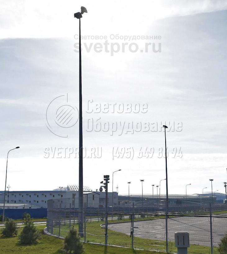 НПГ-16 Опора несиловая прямостоечная граненая высота 16 метров