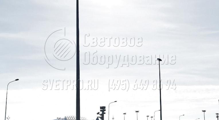 Освещение тренировочной базы олимпийского резерва.