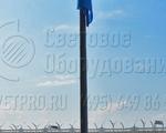 НФГ-3 Опора несиловая фланцевая граненая высота 3 метра