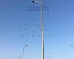 НФГ-7 Опора несиловая фланцевая граненая высота 7 метров