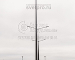 НФГ-8 Опора несиловая фланцевая граненая высота 8 метров