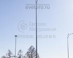 НФГ-9 Опора несиловая фланцевая граненая высота 9 метров