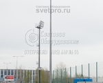 НФГ-10 Опора несиловая фланцевая граненая высота 10 метров