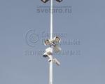 НФГ-16 Опора несиловая фланцевая граненая высота 16 метров