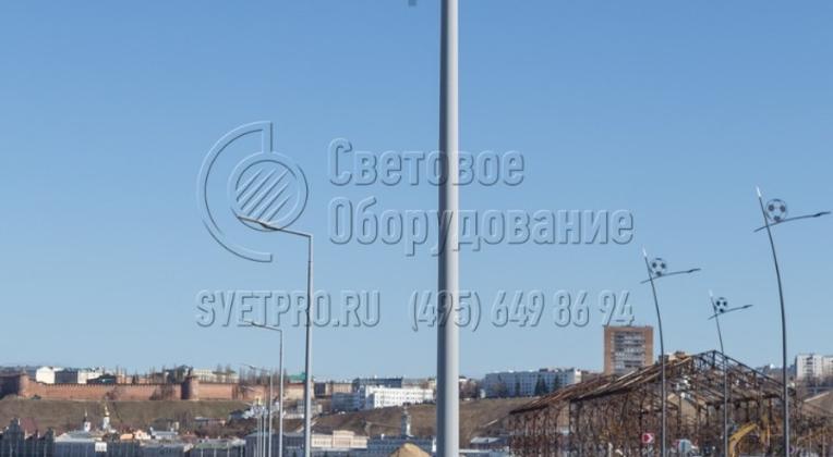 Опоры НФК-5,0-02-ц, г. Нижний Новгород.