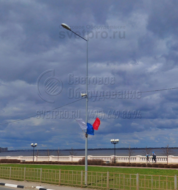 НФК-7 Опора несиловая фланцевая круглоконическая высота 7 метров
