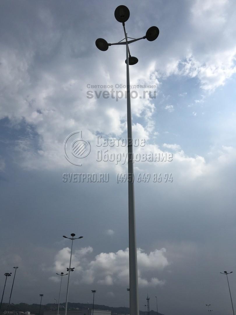 НФК-11,5 Опора несиловая фланцевая круглоконическая высота 11,5 метров