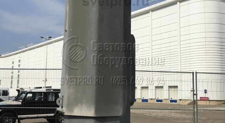 Место крепления замка безопасности, предотвращающего несанкционированное складывание опоры.