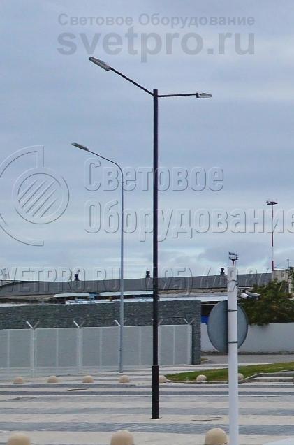 НП-10 Опоры несиловые трубчатые неразборные высота 10 метров