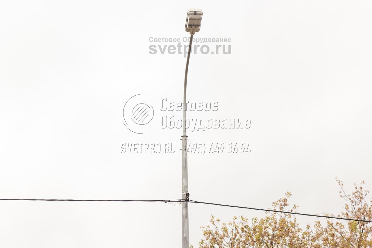 СФГ-400(90)-8 Опора силовая фланцевая граненая высота 8 метров