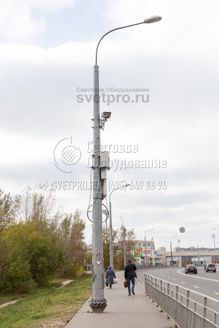 СФГ-700-10 Опора силовая фланцевая граненая высота 10 метров