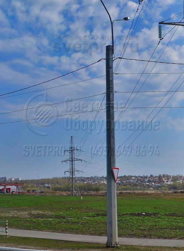 СФГ-1800-9 Опора силовая фланцевая граненая высота 9 метров