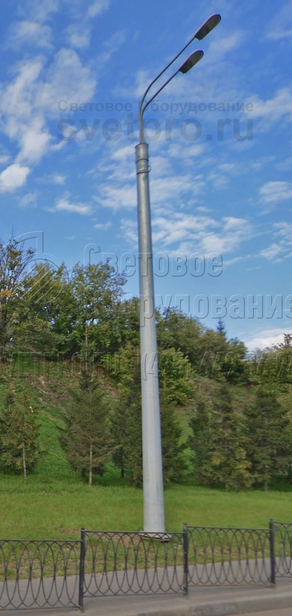СФГ-2000-9 Опора силовая фланцевая граненая высота 9 метров