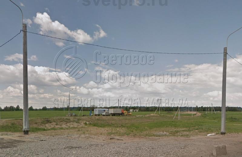 СФГ-2000-10 Опора силовая фланцевая граненая высота 10 метров