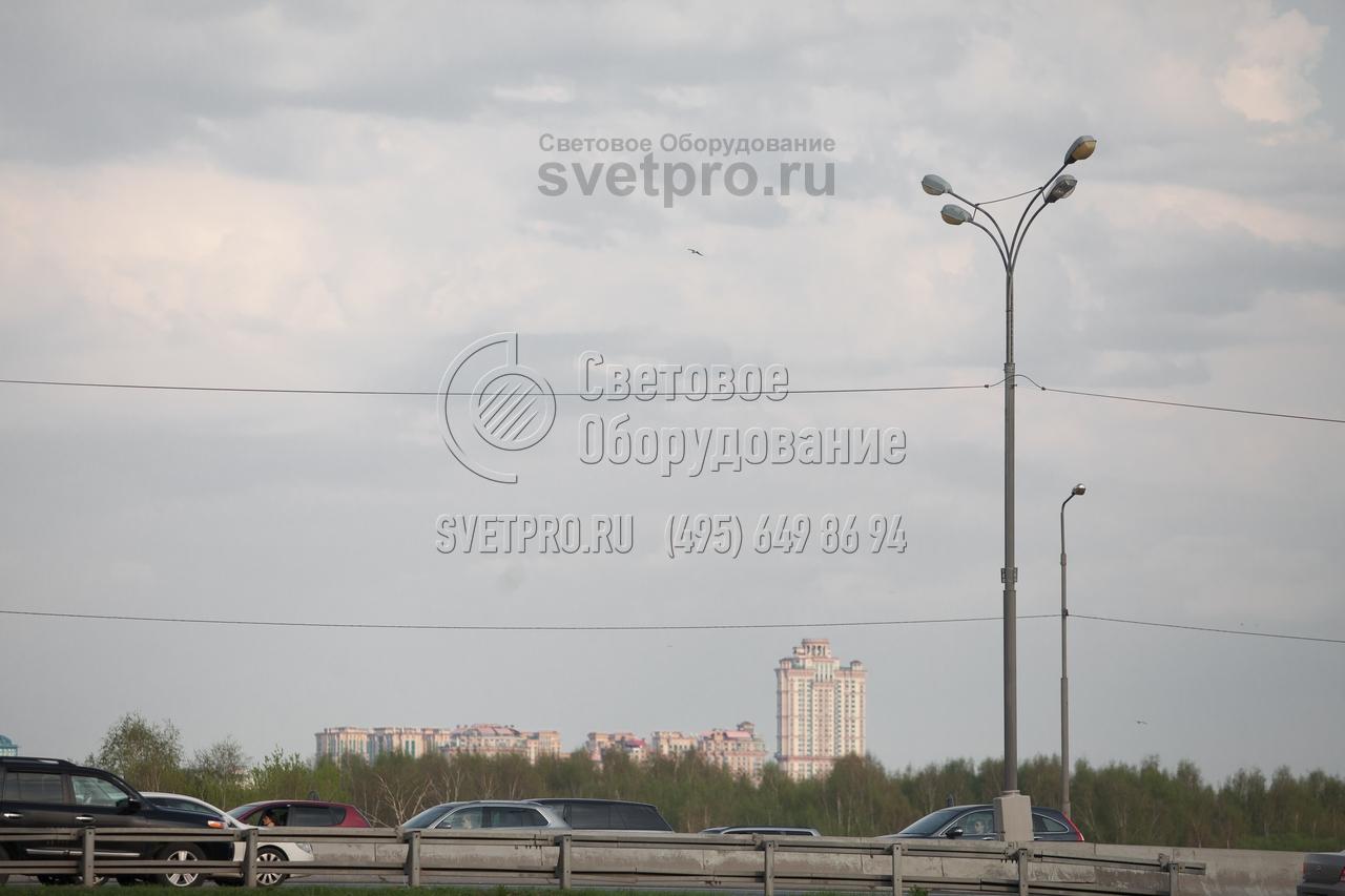 СП-600-11/13,5 Опора силовая прямостоечная трубчатая высота 11 метров