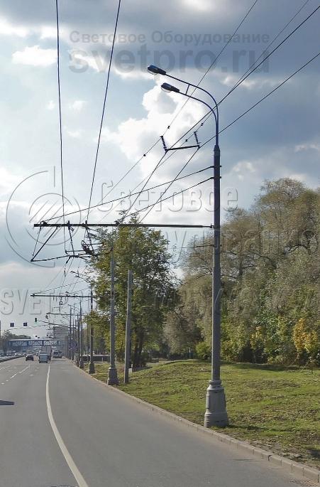 ТП-1000-11 Опора контактной сети прямостоечная трубчатая высота 11 метров