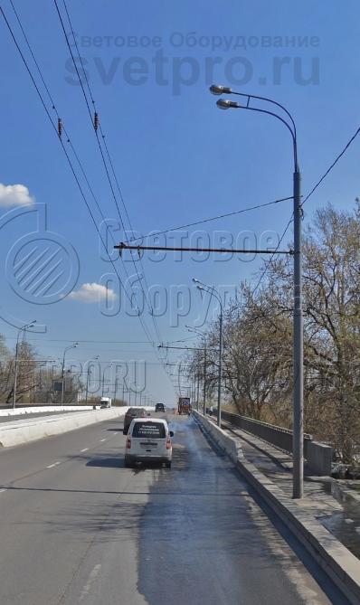 ТП-2000-9/12 Опора контактной сети прямостоечная трубчатая высота 9 метров