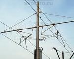 ТФ-1300-9 Опора контактной сети фланцевая трубчатая высота 9 метров