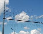 ТФГ-700-9 Опора контактной сети фланцевая граненая высота 9 метров