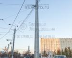 ТФГ-1000-9 Опора контактной сети фланцевая граненая высота 9 метров