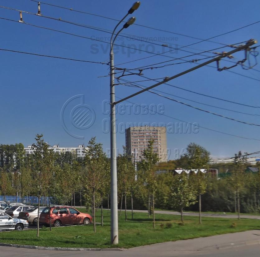 ТФГ-1800-10 Опора контактной сети фланцевая граненая высота 10 метров