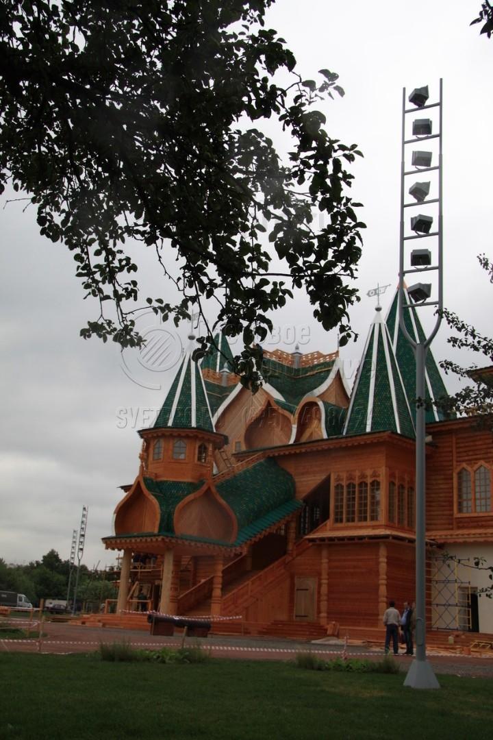 Камертон-12 Опора прожекторная высота 12 метров