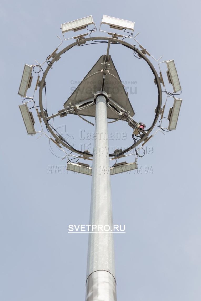 Светильники, лампы, ПРА в комплект установки не входят и заказываются отдельно.