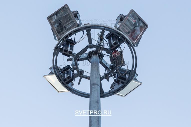 Подъём мобильной рамы на мачте МГФ35‐М электроприводом до верхней точки 35 м категорически запрещено.