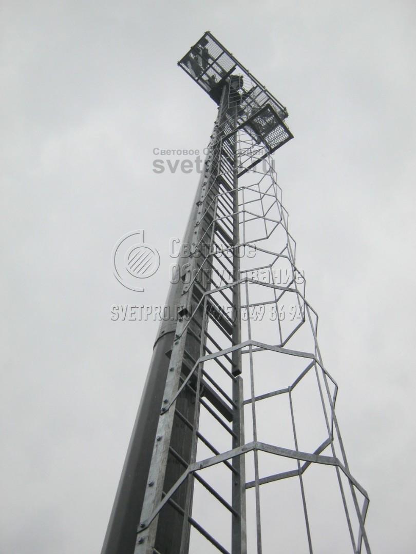 МГФ-30-СР Мачта со стационарной короной высота 30 метров