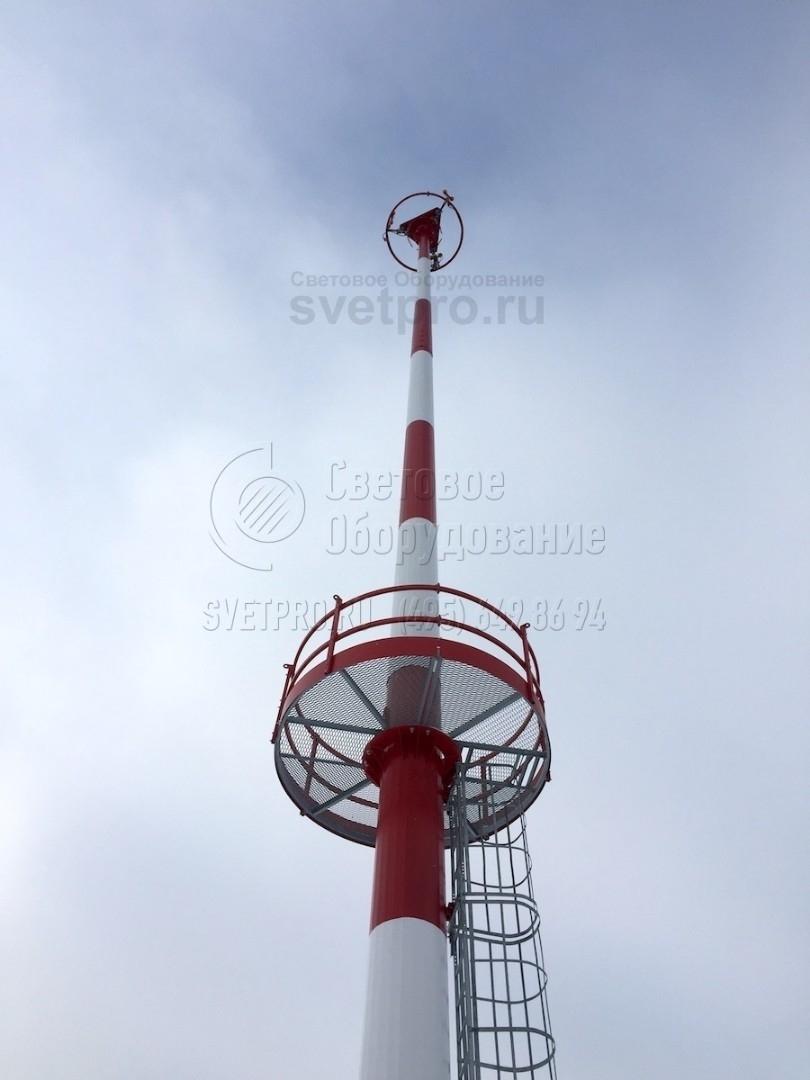 МГФ-СР-М-1 Мачта со стационарно-мобильной короной высота 16-25 метров