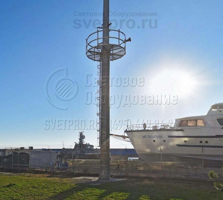 МГФ-СР-М-2 Мачта со стационарно-мобильной короной высота 16-25 метров